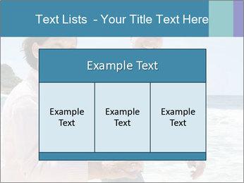 Senior couple running PowerPoint Template - Slide 59