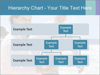 Senior couple running PowerPoint Template - Slide 67