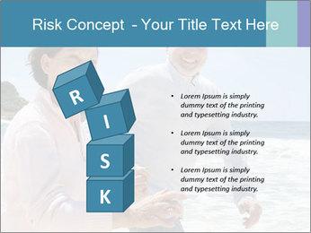 Senior couple running PowerPoint Template - Slide 81