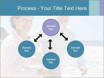 Senior couple running PowerPoint Template - Slide 91