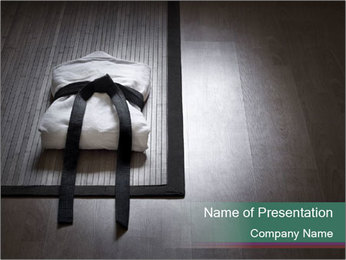 Aikido PowerPoint Template - Slide 1