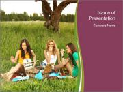 Girlfriends PowerPoint Template