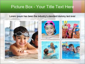 Swimming kid PowerPoint Template - Slide 19