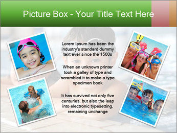 Swimming kid PowerPoint Templates - Slide 24