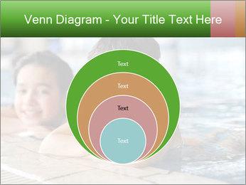 Swimming kid PowerPoint Template - Slide 34