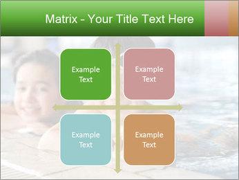 Swimming kid PowerPoint Template - Slide 37