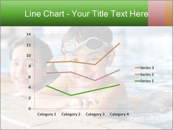 Swimming kid PowerPoint Template - Slide 54