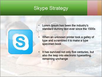 Swimming kid PowerPoint Template - Slide 8