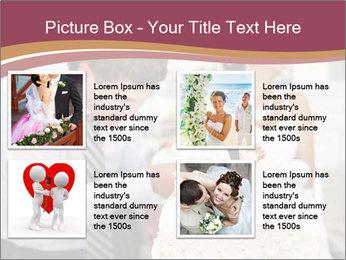 Bride PowerPoint Template - Slide 14