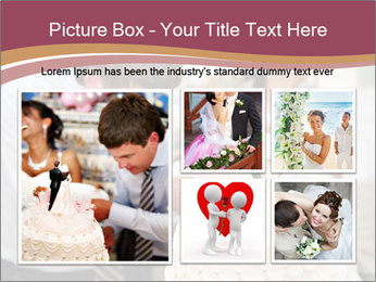 Bride PowerPoint Template - Slide 19