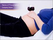 Pregnant woman PowerPoint Templates