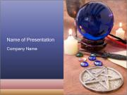 Witchcraft objects PowerPoint Templates