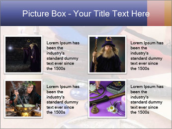Witchcraft objects PowerPoint Template - Slide 14