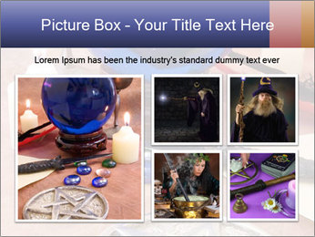 Witchcraft objects PowerPoint Template - Slide 19