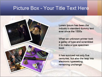 Witchcraft objects PowerPoint Template - Slide 23