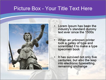 Justice statue PowerPoint Template - Slide 13
