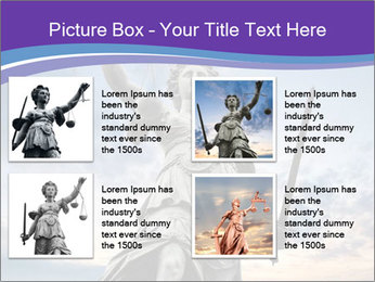 Justice statue PowerPoint Template - Slide 14