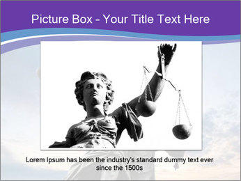 Justice statue PowerPoint Template - Slide 15
