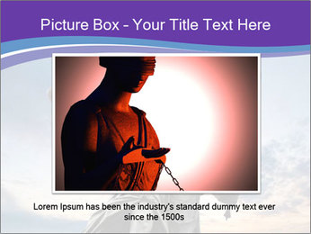 Justice statue PowerPoint Template - Slide 16