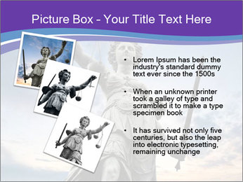 Justice statue PowerPoint Template - Slide 17