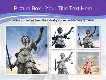 Justice statue PowerPoint Template - Slide 19