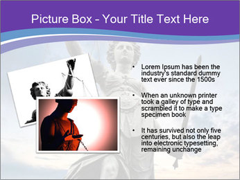 Justice statue PowerPoint Template - Slide 20