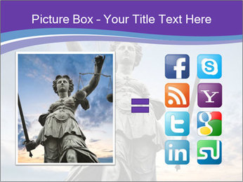 Justice statue PowerPoint Template - Slide 21