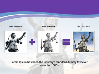 Justice statue PowerPoint Template - Slide 22