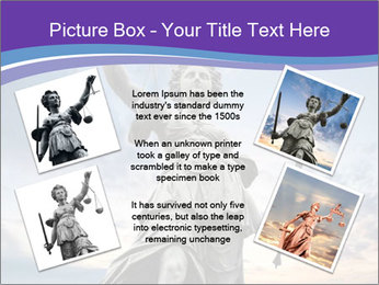 Justice statue PowerPoint Template - Slide 24