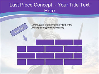 Justice statue PowerPoint Template - Slide 46
