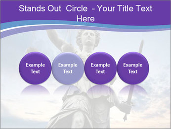 Justice statue PowerPoint Template - Slide 76