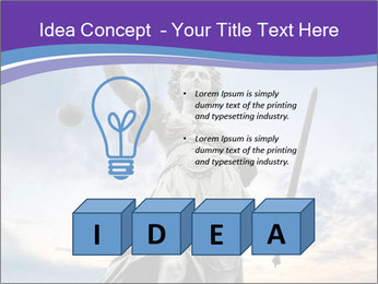 Justice statue PowerPoint Template - Slide 80
