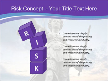 Justice statue PowerPoint Template - Slide 81