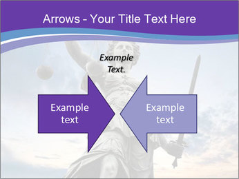 Justice statue PowerPoint Template - Slide 90