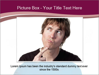 Woman smiling PowerPoint Template - Slide 16
