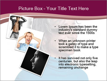Woman smiling PowerPoint Templates - Slide 17
