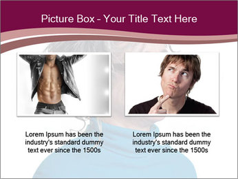 Woman smiling PowerPoint Template - Slide 18
