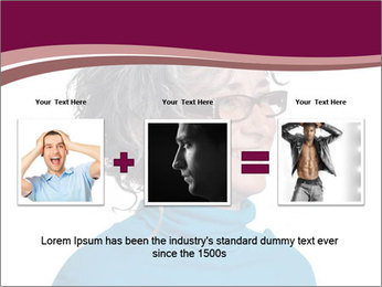 Woman smiling PowerPoint Templates - Slide 22