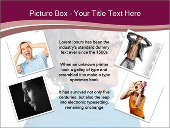 Woman smiling PowerPoint Template - Slide 24