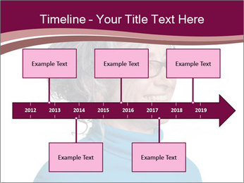 Woman smiling PowerPoint Templates - Slide 28