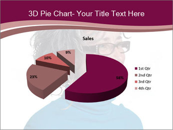 Woman smiling PowerPoint Templates - Slide 35