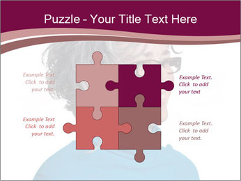 Woman smiling PowerPoint Templates - Slide 43