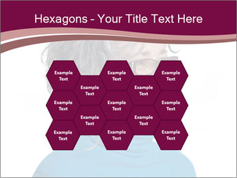 Woman smiling PowerPoint Templates - Slide 44