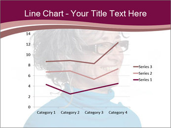 Woman smiling PowerPoint Templates - Slide 54