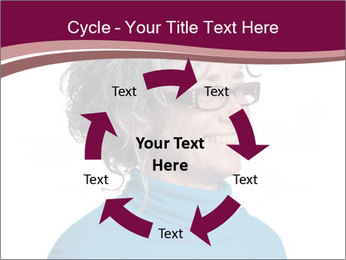 Woman smiling PowerPoint Templates - Slide 62