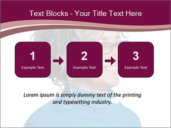 Woman smiling PowerPoint Templates - Slide 71