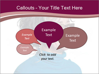 Woman smiling PowerPoint Templates - Slide 73