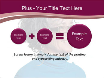 Woman smiling PowerPoint Templates - Slide 75