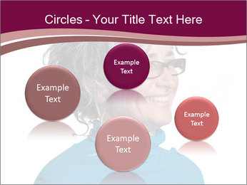 Woman smiling PowerPoint Templates - Slide 77