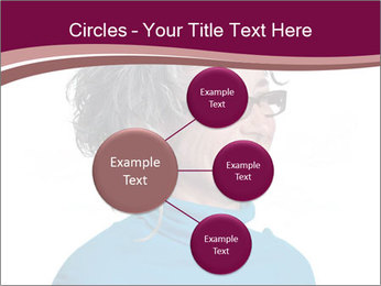 Woman smiling PowerPoint Templates - Slide 79